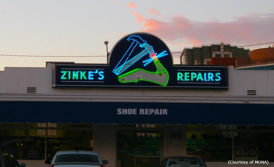 Zinke's Repairs | Neon Art