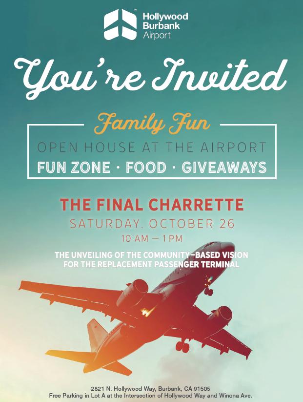 Burbank Airport Invite