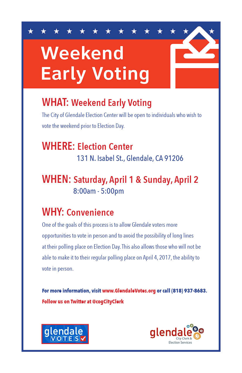 Glendale Elections