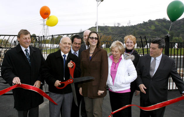 Riverwalk Phase 1 Ribbon Cutting Photo