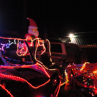 Golf Cart Christmas Parade