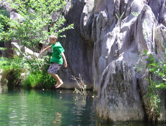 Haigler Creek Swiming Hole