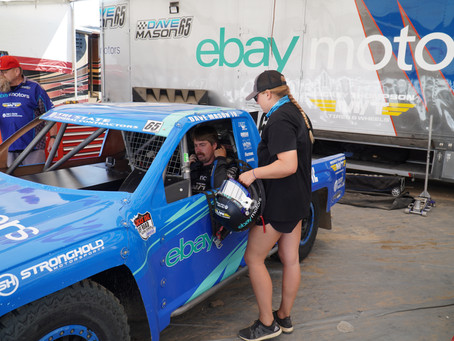 Dave Mason Jr. Returns to Racing with Strong Debut in eBay Motors Prolite