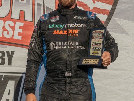 Dave Mason Jr. Returns to the Podium, Sets New Track Record, and Defends Points Championship Lead