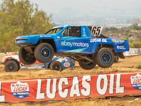 Dave Mason Jr. Debuts eBay Motors Prolite on the Podium Despite Spectacular Qualifying Crash