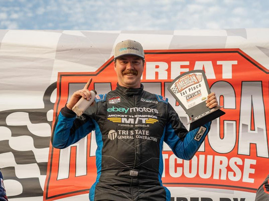 Dave Mason Jr. Drives eBay Motors to Victory in First Rounds of the New Great American Short Course