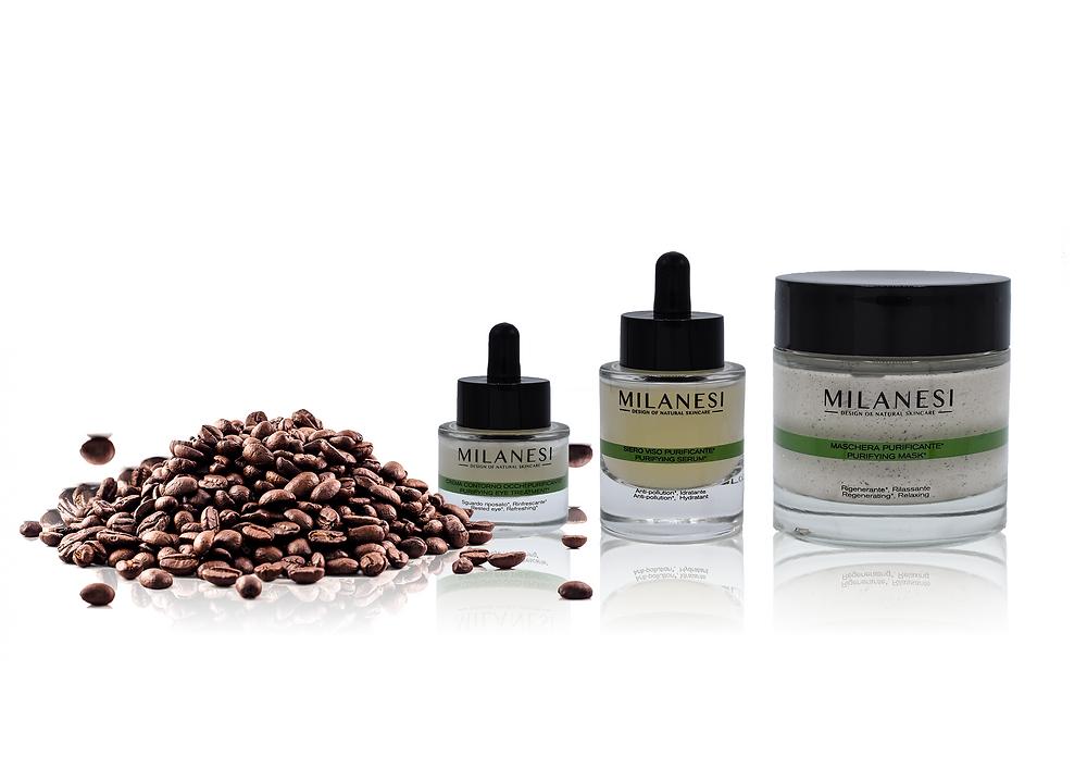 Linea purificante navigli con caffè ed estratti naturali 100% made in italy
