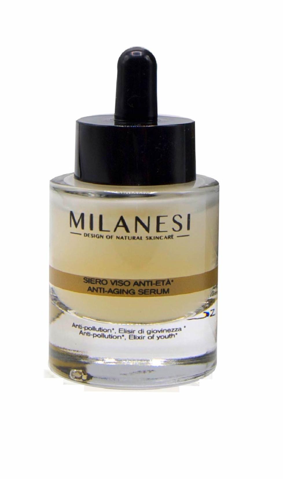 Il siero viso anti-età Montenapoleone è un potente siero ideato con un prezioso ingrediente: l'Oro, noto per la sua capacità di nutrire ed idratare la pelle e mantenerne la luminosità.