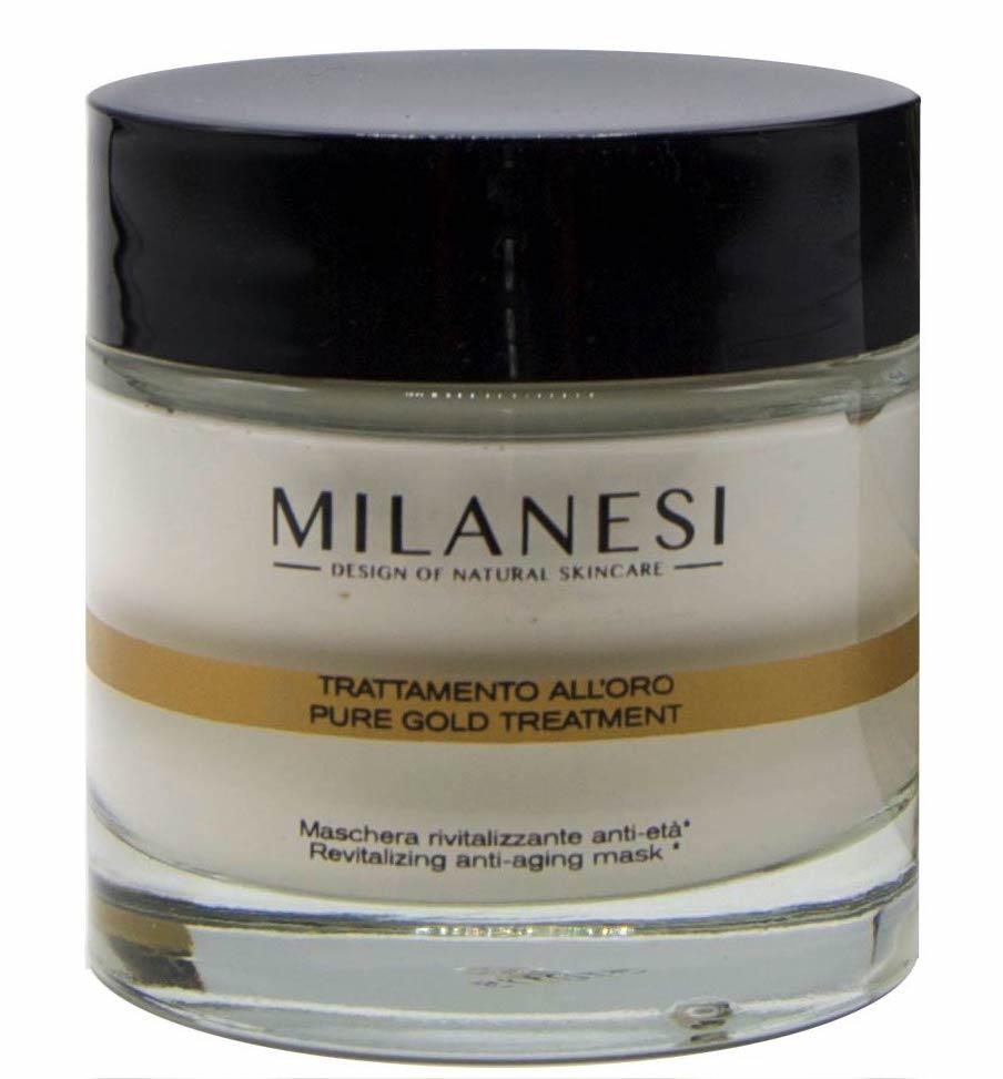 Pure gold treatment- Montenapoleone