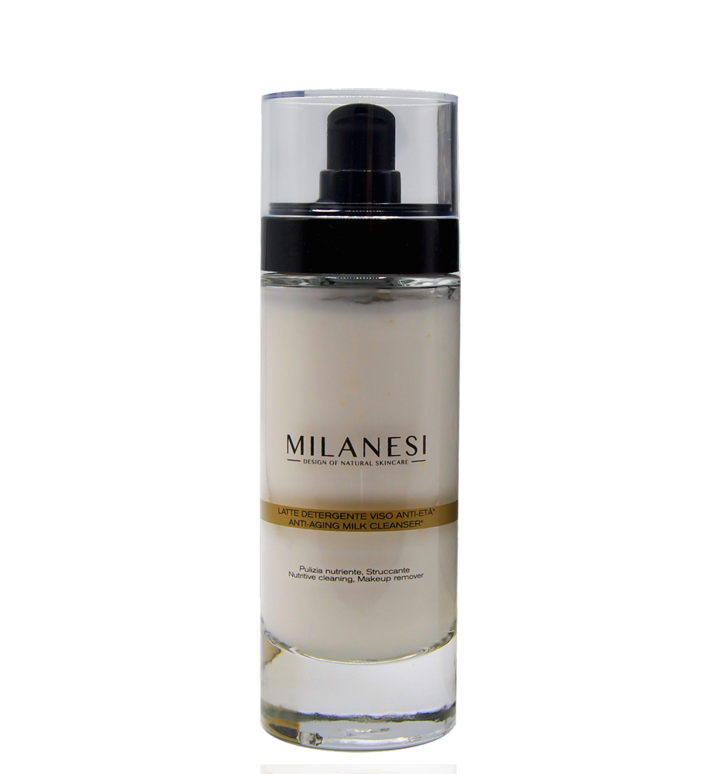 The Montenapoleone Anti-aging Milk Cleanser is a creamy moisturizing cleanser, ideal for a nourishing cleansing.
