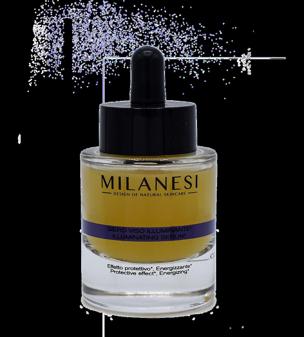 Il Siero viso Illuminante Brera è formulato con lo zafferano, ricco naturalmente di antiossidanti