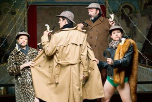 Spymonkey at Wilton's Music Hall, 27th Dec 2014