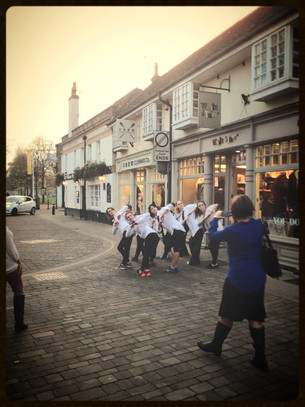 Flashmob, Winchester (Oct 2014)