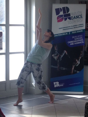 Rebecca Nice performs at Pavilion Dance, 26th April 2014.