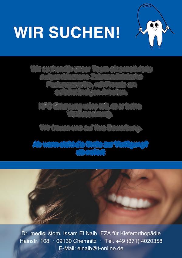 Zahnmedizinische Fachangestellte_210x297