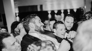 Groomsmen Partying