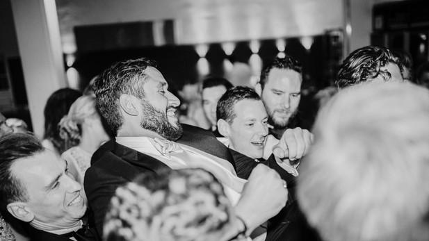 Groomsmen Partying