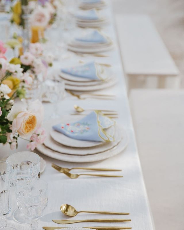 A table setting should look effortless a