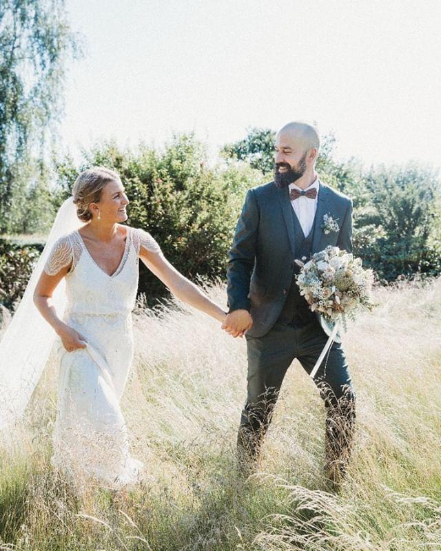 Bryllupsfotografen med naturlige, person