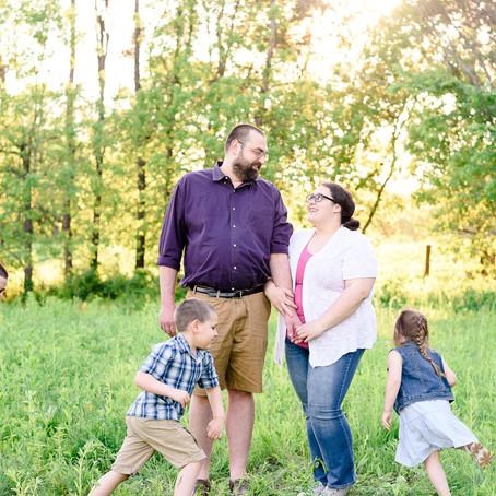 the stephenson family   outdoor family session   eagan, mn