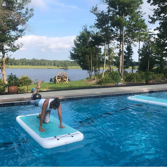 Inflatable Yoga Mat