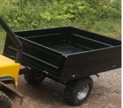 Tow Behind cart for Mini Willys