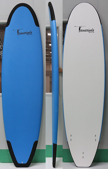 Soft top surf board 7', 8', 9' with FCS fins