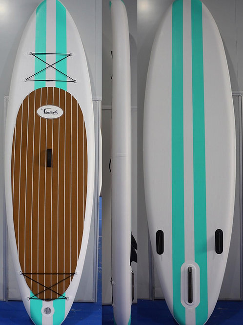 Inflatable SUP (white with stripes)