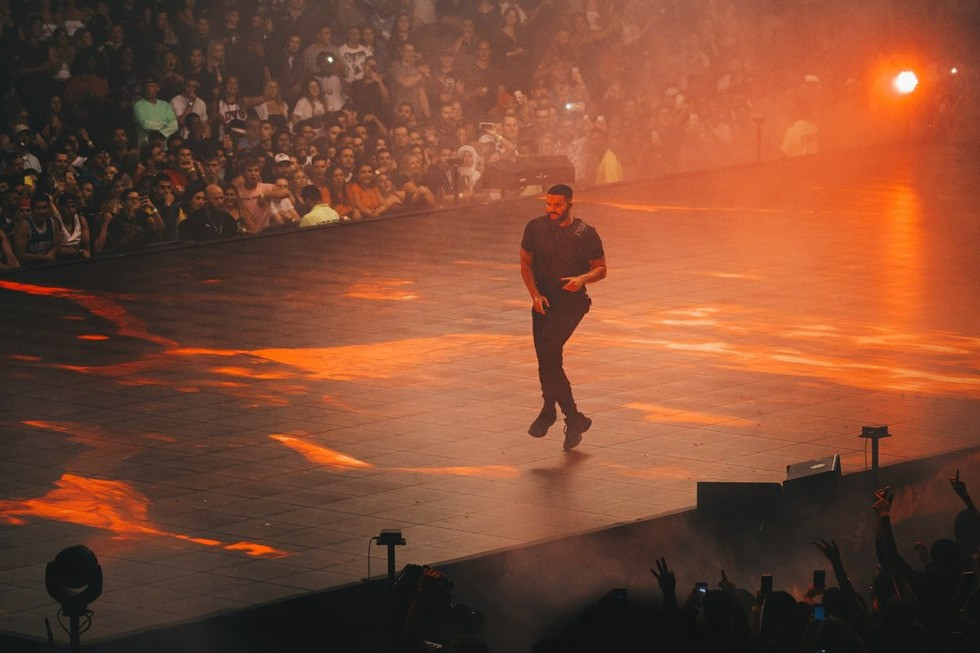 Drake at Scotiabank Theatre on Tour with Migos & Roy Woods