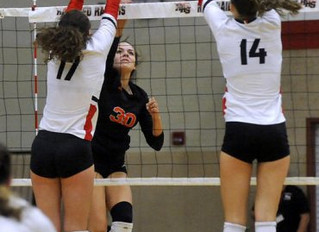 Why am I playing varsity at Huntley?  Training, says Katelyn Bower.  And so does her coach!