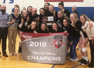 Georgia Wicker & Daemen College - D2, ECC Volleyball Champions