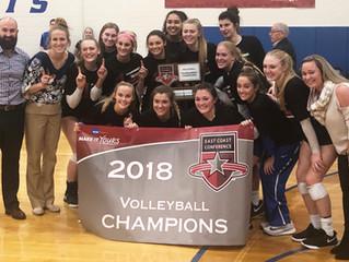 Georgia Wicker & Daemen College - D2, ECC Volleyball Champions