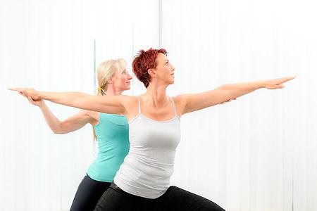Durch gezielte Übungen lassen sich diese Spannungszustände lösen.