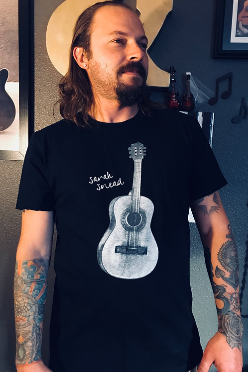 Men's Acoustic Guitar T-Shirt