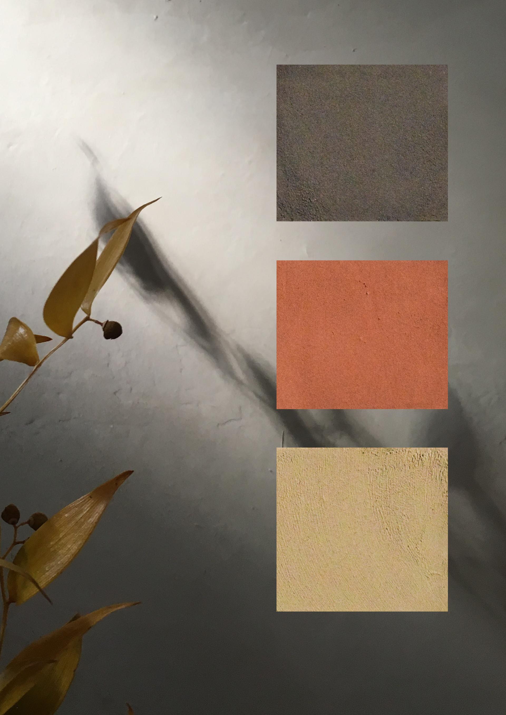 Wall Coatings - Enduits muraux Aurore Piette Studio
