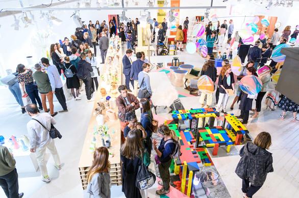 Aurore Piette Studio at 1000 vases, Paris Design Week 2019