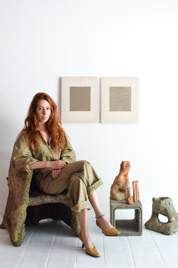 Aurore Piette Studio Portrait