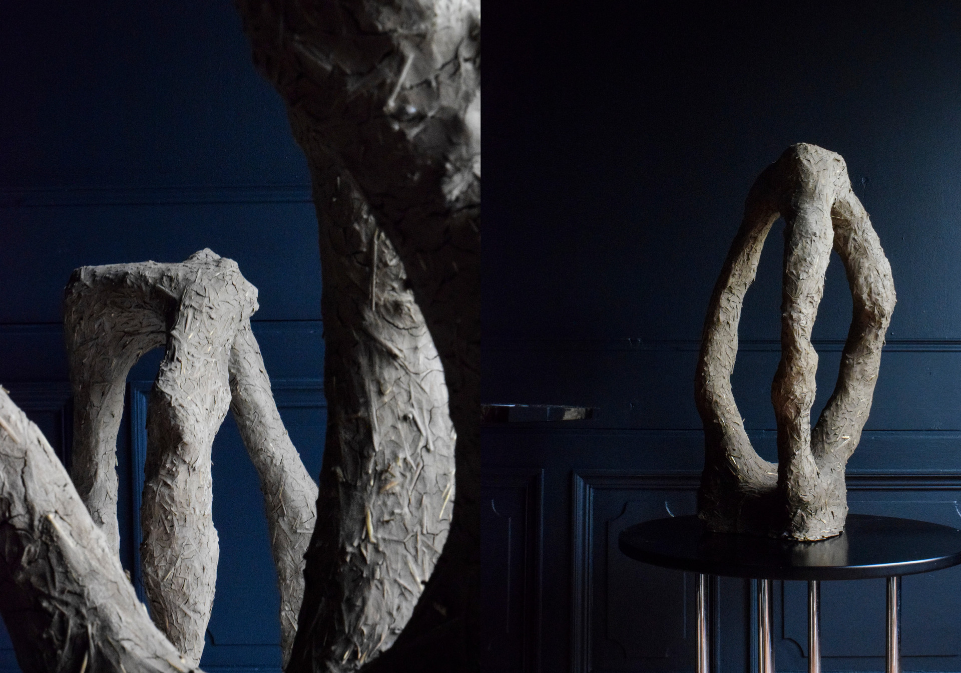 Aurore Piette Studio Autarky Stool and Vase