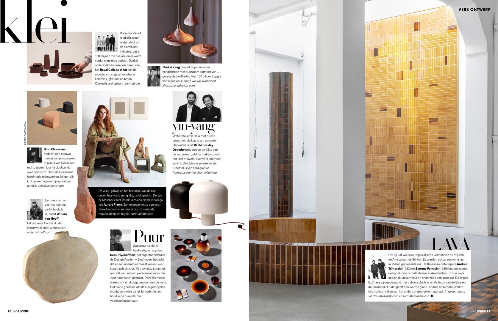 JAN Living magazine NL