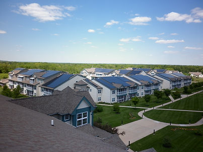 Commercial solar electric system lowering electric costs in NJ