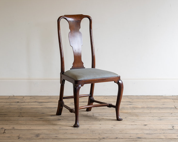 An 18th century mahogany side chair