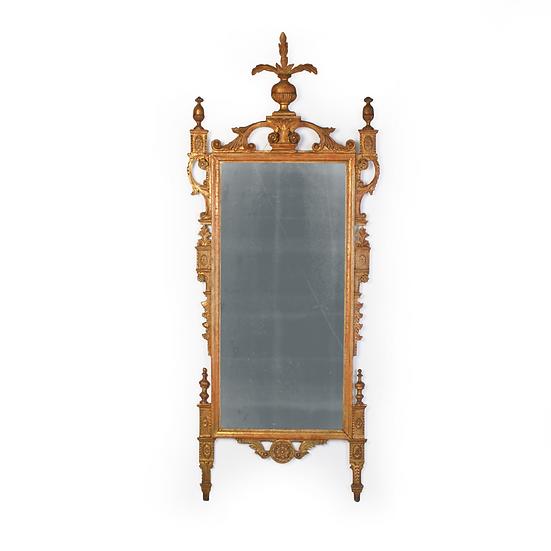 An 18th century Italian giltwood mirror