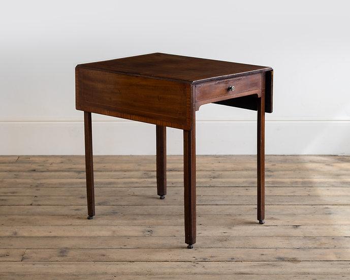 An 18th century mahogany Pembroke table