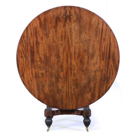 A Regency mahogany centre table