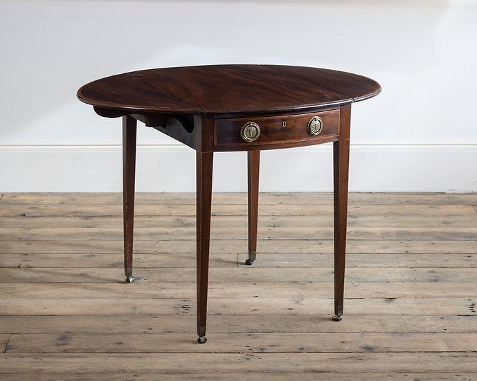 A George III mahogany Pembroke table