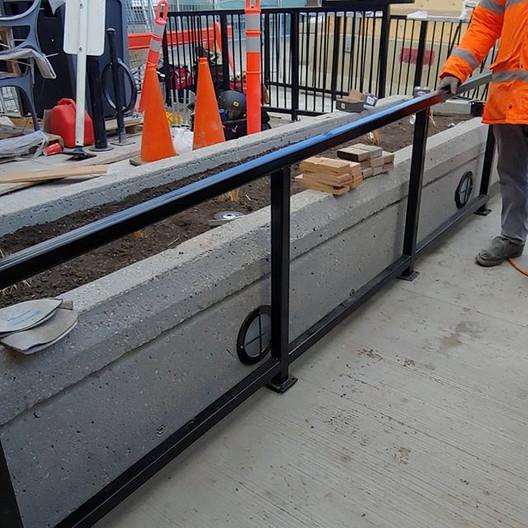 More Handrailed Powder Coated _) #weldin