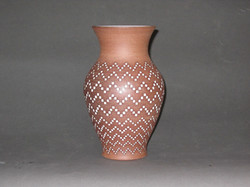 Stoneware, inlaid glaze