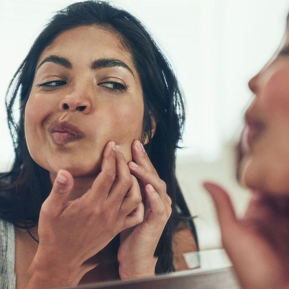 piel con acné