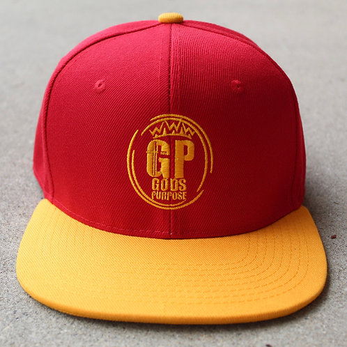 Red and Yellow SnapBack Hat