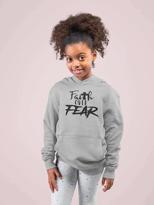 Youth Faith Over Fear Hoodie